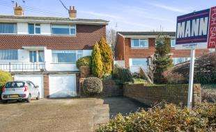 3 Bedrooms Semi Detached House for sale in Downs Road, Istead Rise, Gravesend, Kent