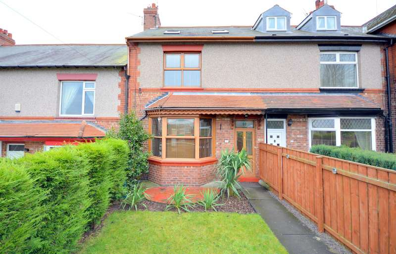 4 Bedrooms Terraced House for sale in Eldon Bank, Eldon, Bishop Auckland, DL14 8DX