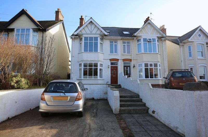 3 Bedrooms Semi Detached House for sale in St Johns Road, Exmouth