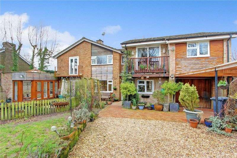 5 Bedrooms Semi Detached House for sale in Green Lane, Ampfield, Nr Romsey, Hampshire