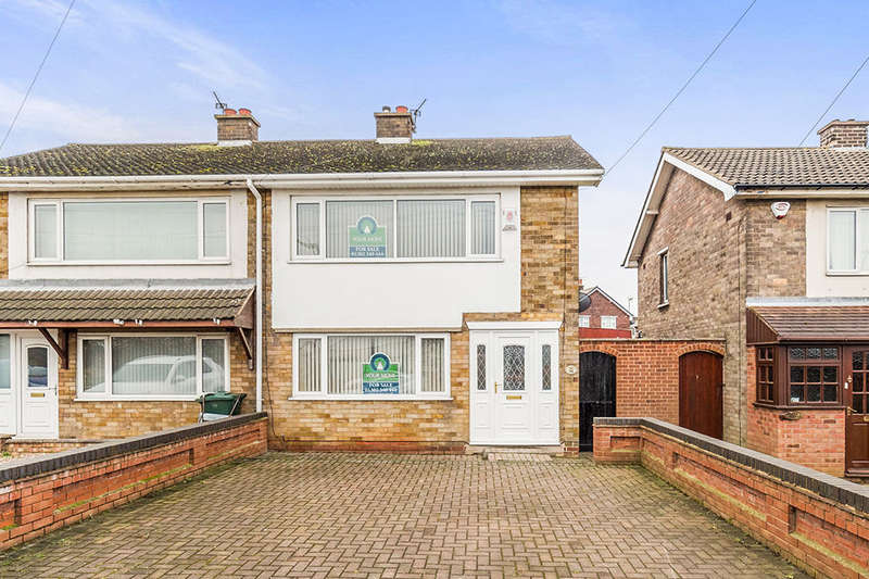2 Bedrooms Semi Detached House for sale in Doncaster Road, Kirk Sandall, Doncaster, DN3