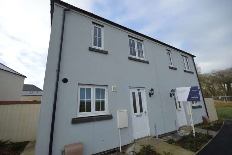 2 Bedrooms Semi Detached House for sale in Trevethan Meadows, Carlton Way, Liskeard, PL14