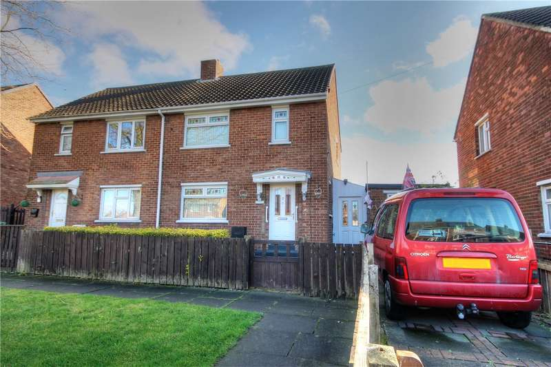2 Bedrooms Semi Detached House for sale in Collingwood Drive, Houghton Le Spring, Tyne and Wear, DH4