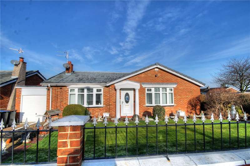 2 Bedrooms Semi Detached Bungalow for sale in Abington, Ouston, Chester Le Street, DH2