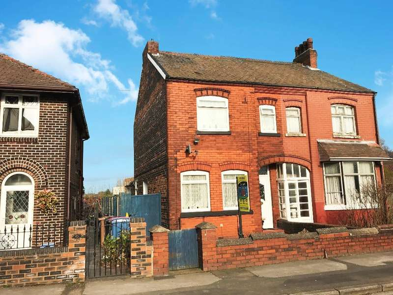 3 Bedrooms Semi Detached House for sale in Bradburn Road, Irlam, Manchester, M44 5ZD