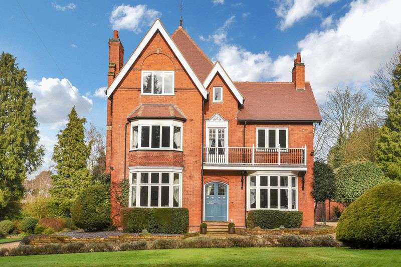 6 Bedrooms Detached House for sale in Stamford Road, Kirby Muxloe