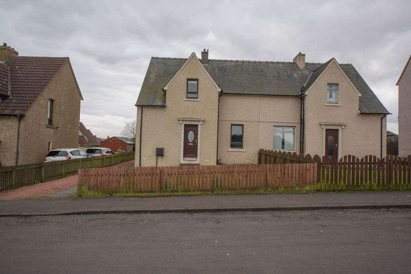 2 Bedrooms Semi Detached House for sale in Upper Bathville, Armadale, EH48 3JX