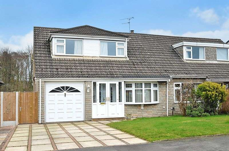 2 Bedrooms Semi Detached House for sale in Malpas Road, Higher Runcorn