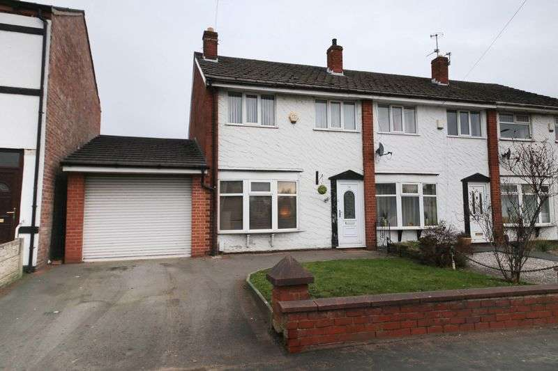 3 Bedrooms Semi Detached House for sale in Smallbrook Lane, Leigh, Wigan