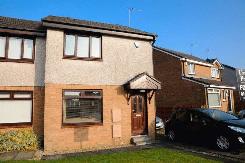 2 Bedrooms Semi Detached House for sale in Coats Drive, Paisley