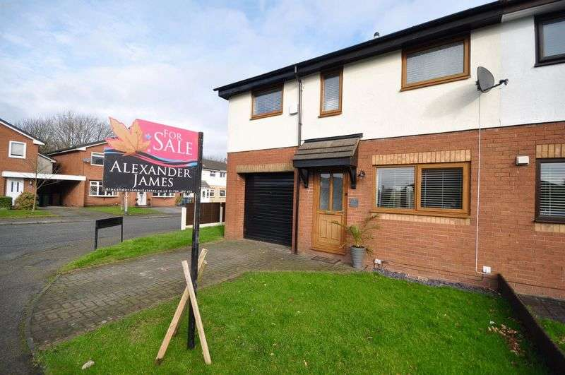 3 Bedrooms Semi Detached House for sale in Shaftesbury Drive, Heywood