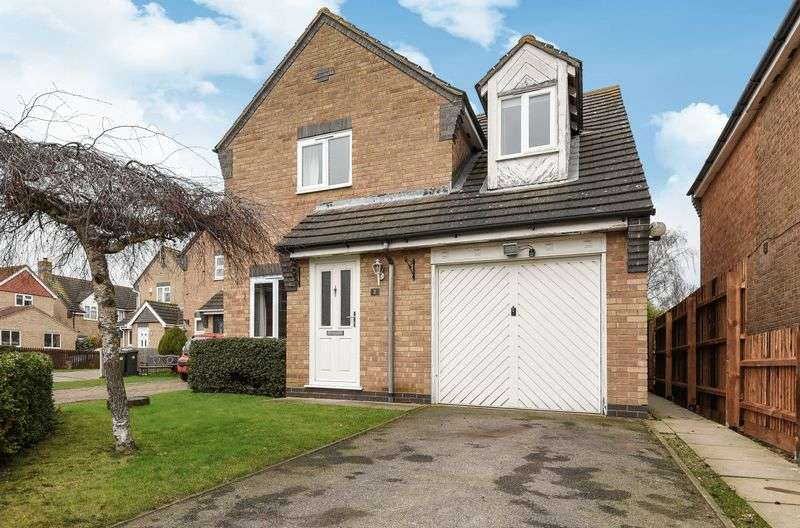 4 Bedrooms Detached House for sale in Warren Croft, Sawtry