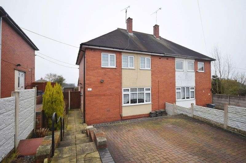 3 Bedrooms Semi Detached House for sale in Brocklehurst Way, Sneyd Green