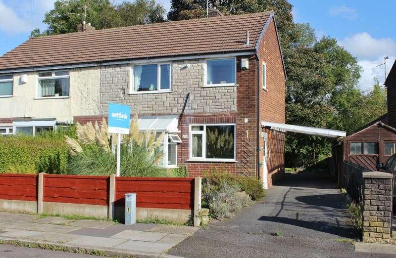 2 Bedrooms Semi Detached House for sale in Penistone Avenue, Rochdale, Lancashire, OL16 4AL