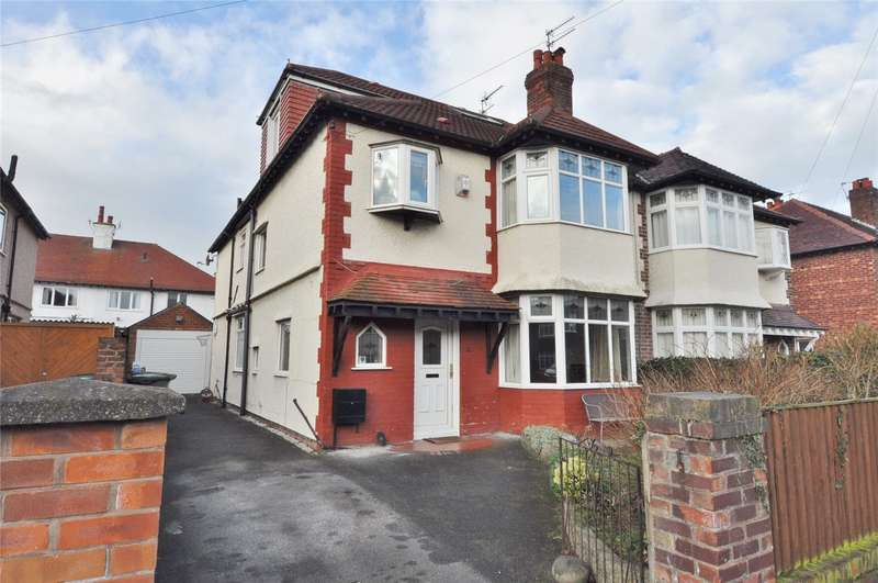 5 Bedrooms Semi Detached House for sale in Saxon Road, Hoylake, Wirral