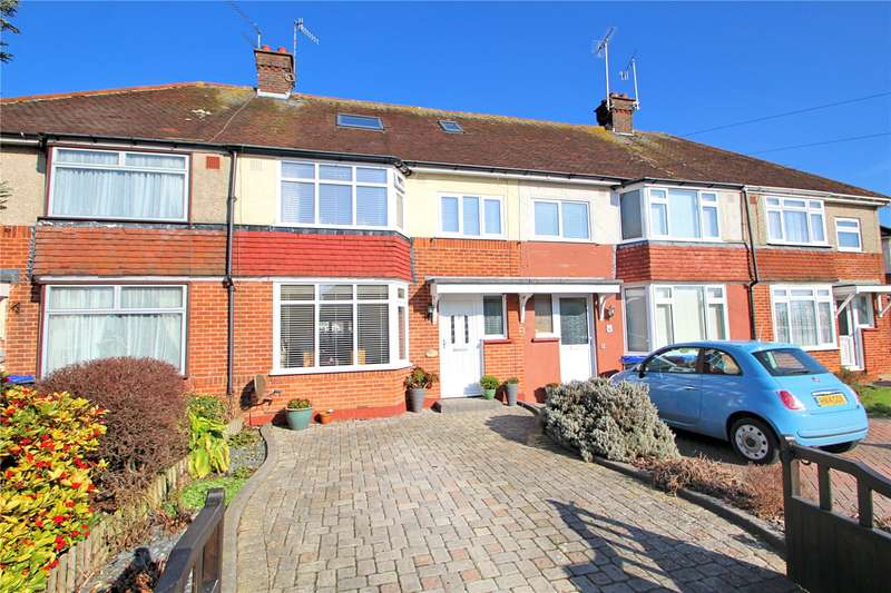 4 Bedrooms Terraced House for sale in Lindum Road, Tarring, Worthing, BN13