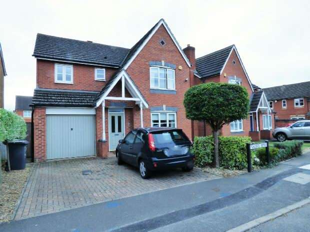 4 Bedrooms Detached House for sale in Peacock Mews, Kidderminster