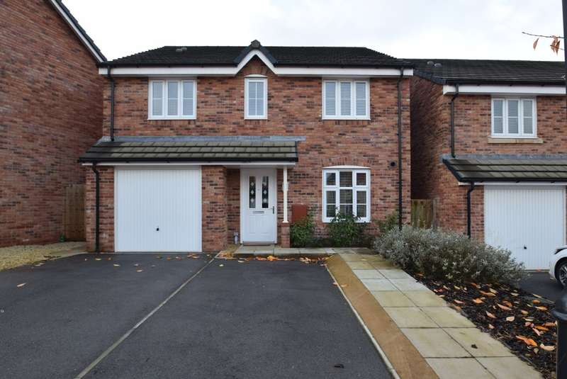 4 Bedrooms Detached House for sale in 16 Lon Yr Helyg, Parc Derwen, Coity, CF35 6DD
