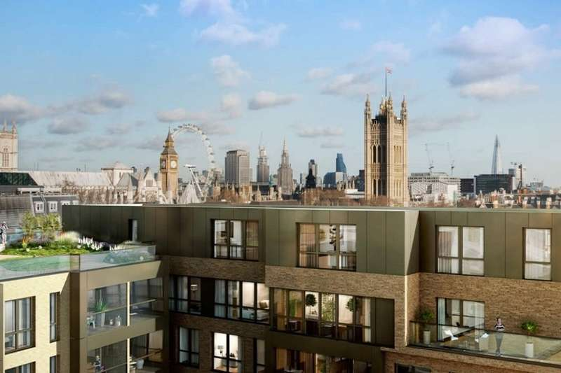 2 Bedrooms Flat for sale in Rosamond House, Westminster, SW1P