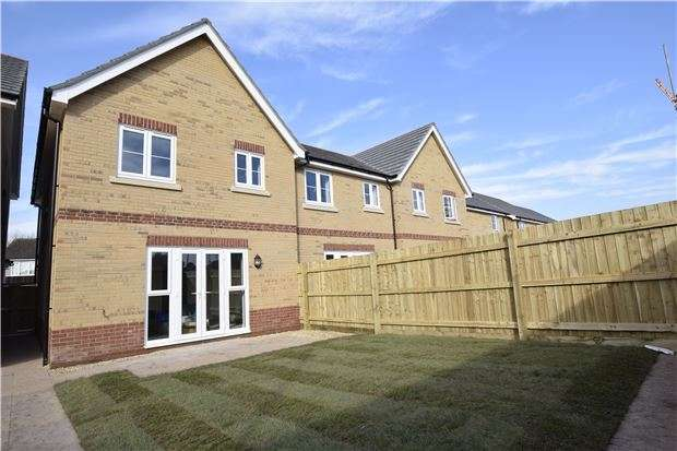 3 Bedrooms End Of Terrace House for sale in The Burton, Charlotte Mews, BRISTOL, BS30 8DD