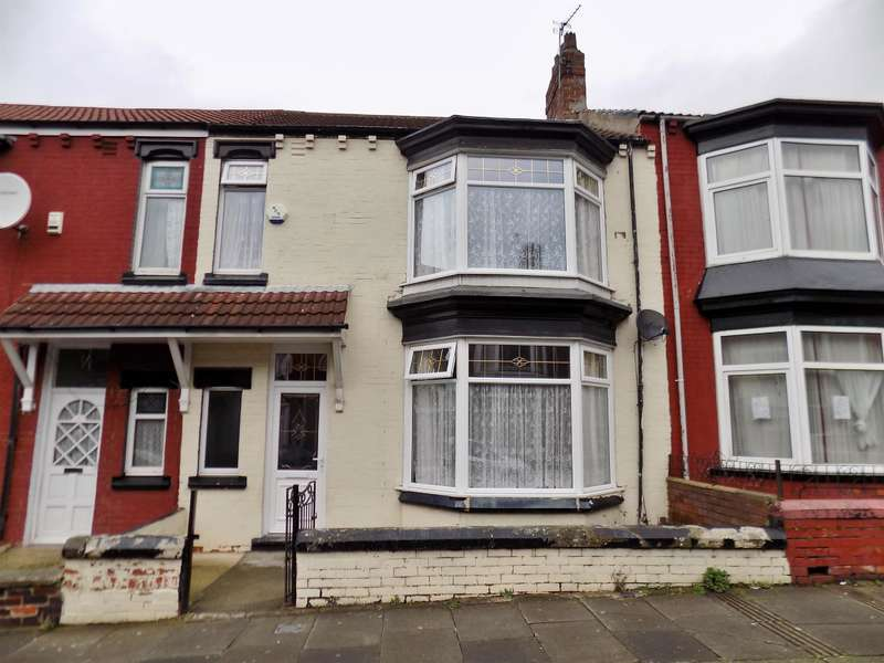 3 Bedrooms Terraced House for sale in Wellesley Road, Longlands, Middlesbrough, TS4 2DQ