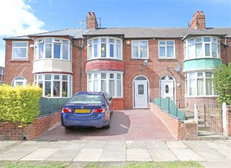 3 Bedrooms Terraced House for sale in Lothian Road, Middlesbrough, TS4 2HL