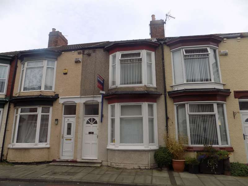 2 Bedrooms Terraced House for sale in Kildare Street, Middlesbrough, TS1 4QY