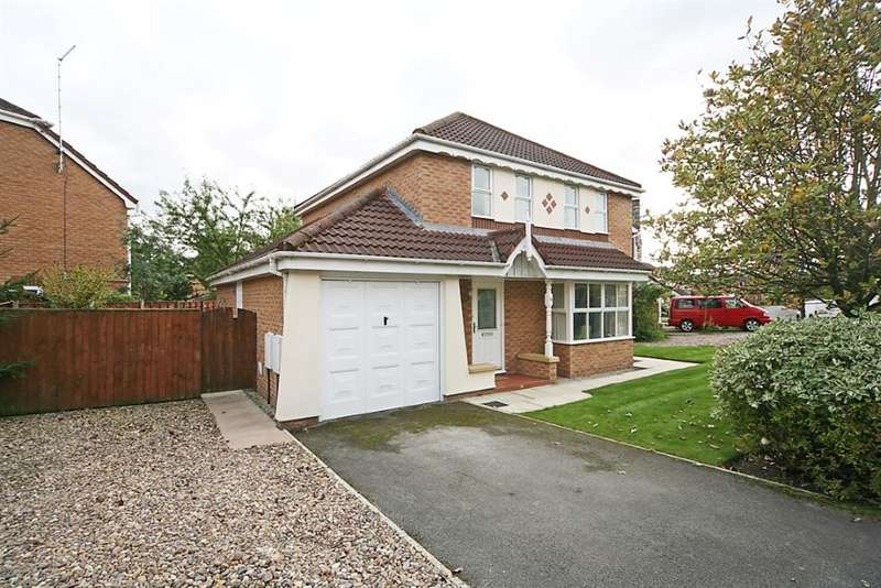4 Bedrooms Detached House for sale in Greylag Crescent, Worsley, Manchester, M28 7AB