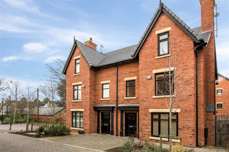 4 Bedrooms Town House for sale in The Moorings, Worsley, Manchester, M28 2QE