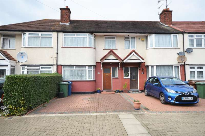 3 Bedrooms Terraced House for sale in Leamington Crescent, Harrow, Middlesex, HA2 9HQ