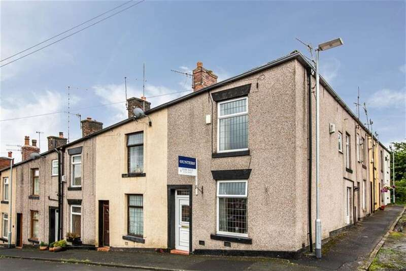 2 Bedrooms End Of Terrace House for sale in Finance Street, Dearnley, Littleborough, OL15 8ND