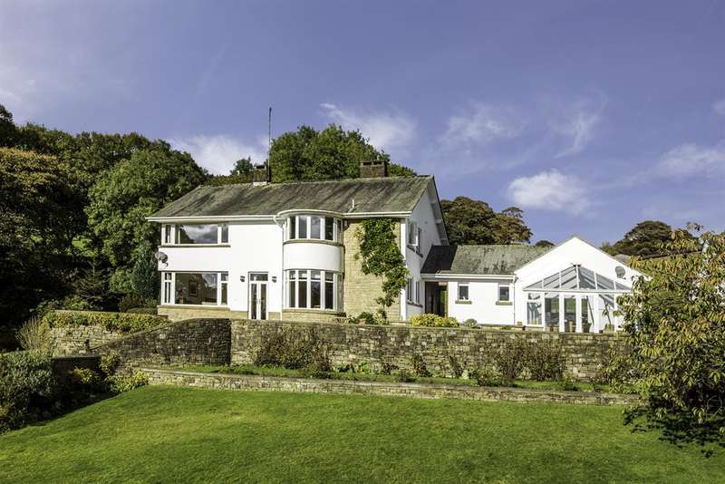 4 Bedrooms Detached House for sale in Higher Shore Road, Shore, Littleborough, OL15 9LW