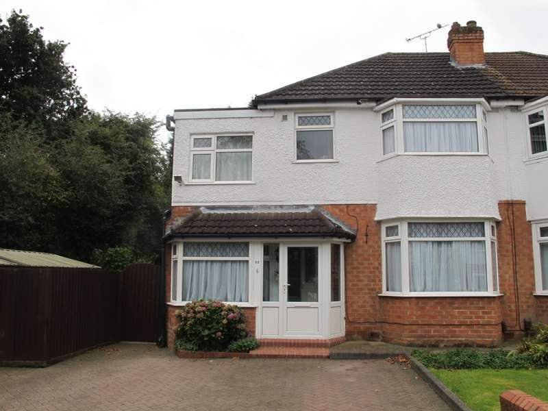 4 Bedrooms Semi Detached House for sale in Rangoon Road, Solihull