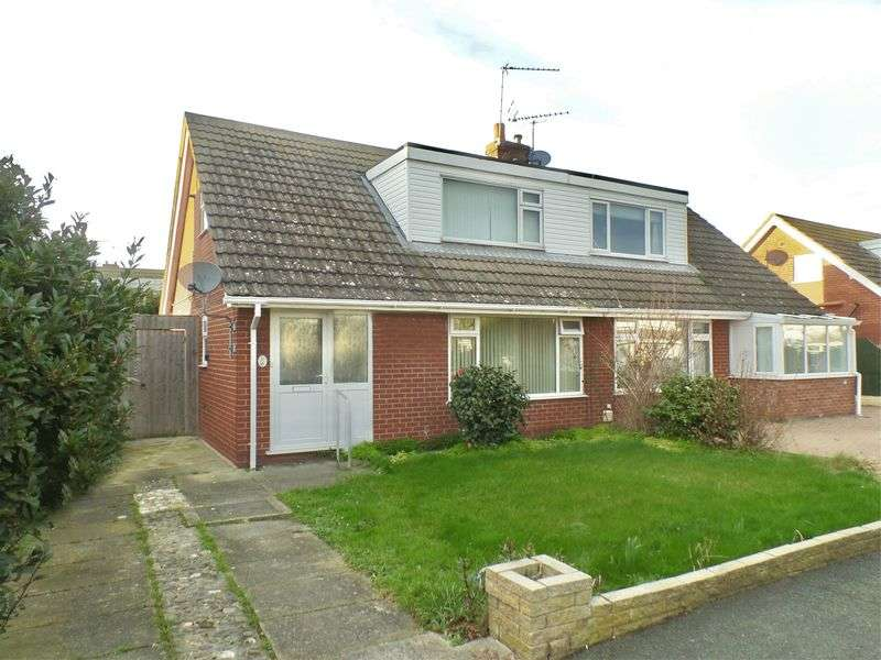 3 Bedrooms Semi Detached Bungalow for sale in Llandaff Drive, Prestatyn