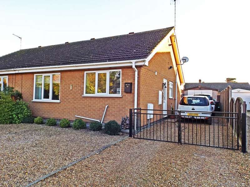 2 Bedrooms Bungalow for sale in James Close, King's Lynn, Norfolk, PE30