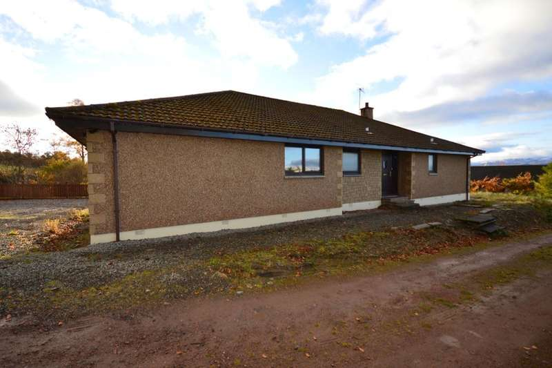 4 Bedrooms Detached Bungalow for sale in Rowanbrae Fassick, Kiltarlity, Beauly, IV4