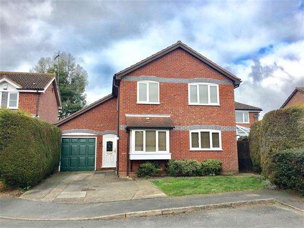 4 Bedrooms Detached House for sale in Halford Court, Ipswich