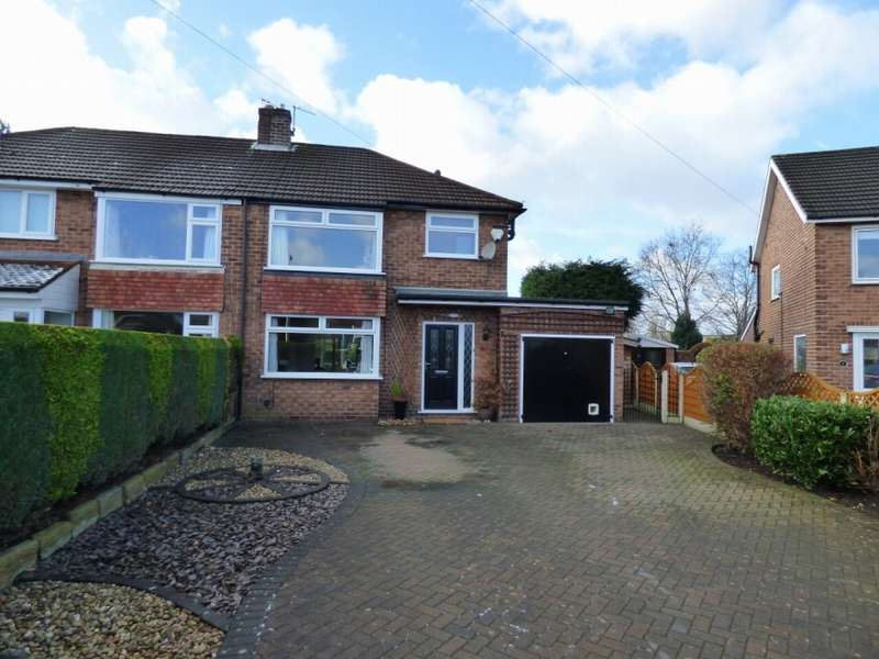 3 Bedrooms Semi Detached House for sale in Balmoral Grove Hazel Grove Stockport