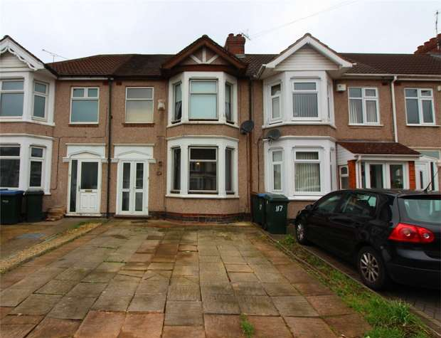 3 Bedrooms Terraced House for sale in Middlemarch Road, Coventry