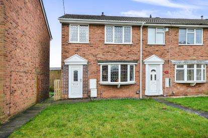 3 Bedrooms End Of Terrace House for sale in Eastleigh Drive, Mansfield Woodhouse, Mansfield, Nottinghamshire