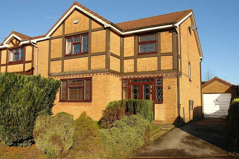 4 Bedrooms Detached House for sale in 17 Lowcroft Crescent, Firwood Park, Chadderton