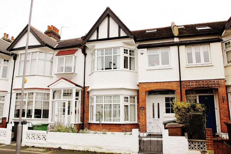 3 Bedrooms Terraced House for sale in Oak Hill Gardens, Woodford Green