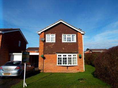 3 Bedrooms Link Detached House for sale in Gorsemoor Road, Cannock, Staffordshire