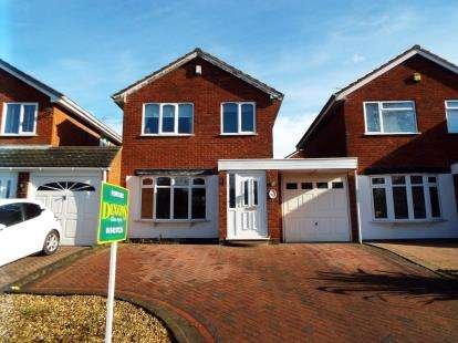 3 Bedrooms Link Detached House for sale in Badgers Way, Heath Hayes, Cannock, Staffordshire