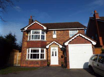 4 Bedrooms Detached House for sale in Reynard Close, Redditch, Worcestershire