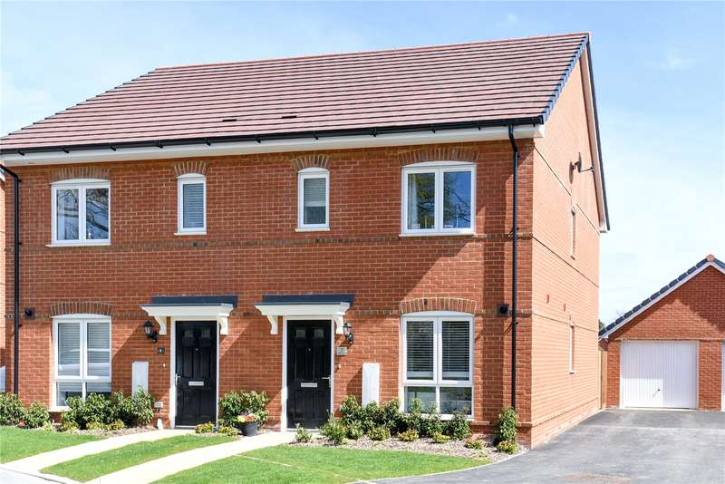 3 Bedrooms Semi Detached House for sale in Pither Close, Spencers Wood, Reading, Berkshire, RG7