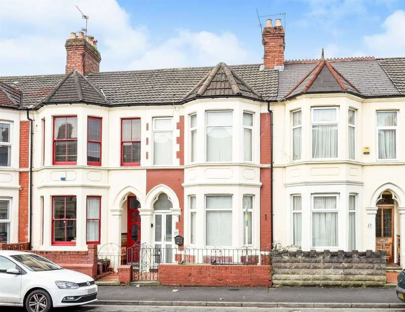 3 Bedrooms Terraced House for sale in Dogfield Street, Cardiff