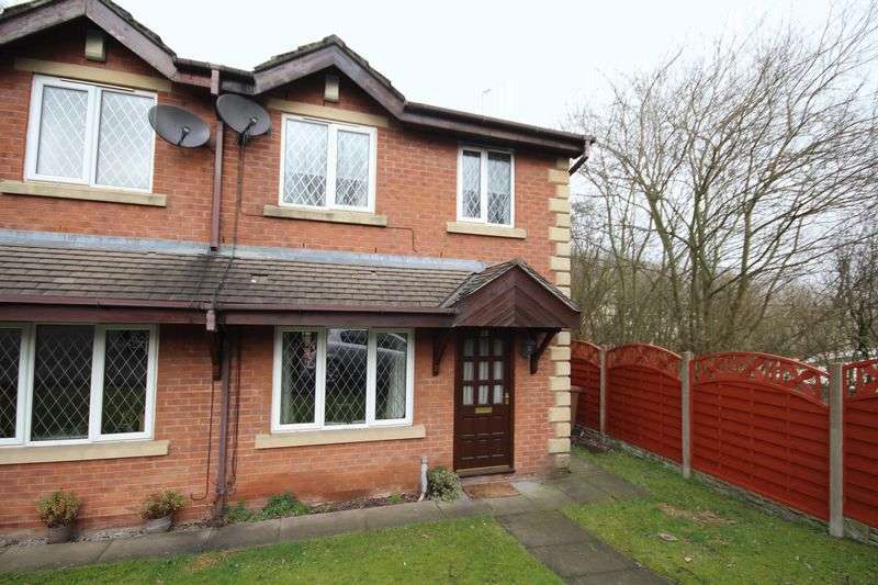 2 Bedrooms Semi Detached House for sale in MARGROY CLOSE, Syke, Rochdale OL12 0ES