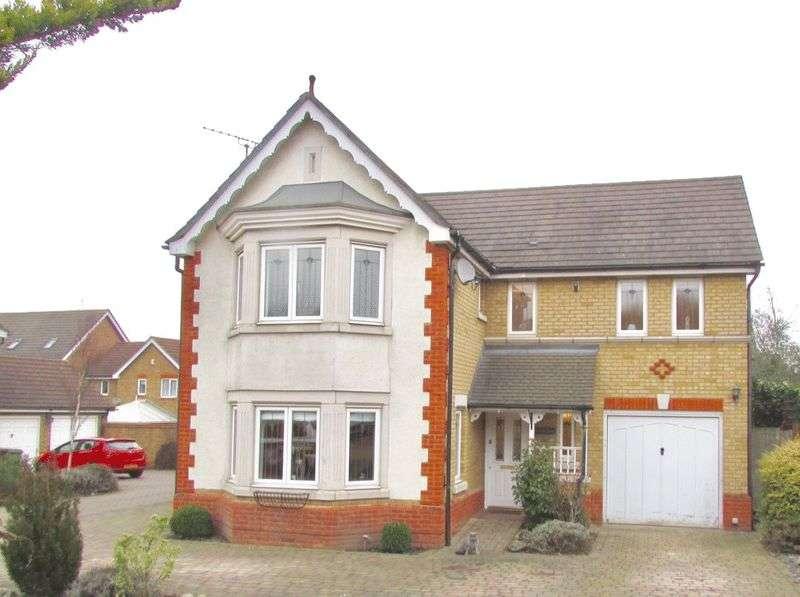 4 Bedrooms Detached House for sale in Carnet Close, Braeburn Park