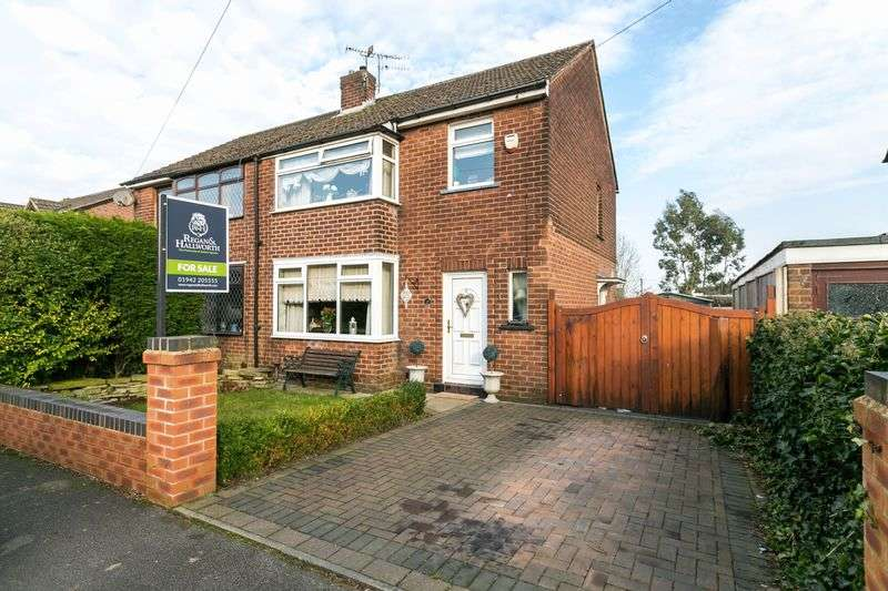 3 Bedrooms Semi Detached House for sale in Millcroft Avenue, Orrell, WN5 8TP